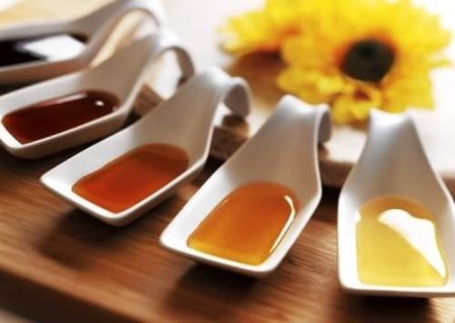 different honey samples