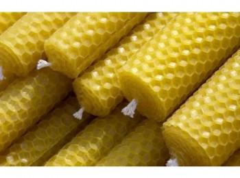 beeswax candles resize