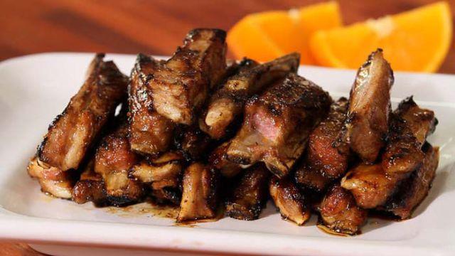 Honey Moroccan Lamb Ribs Image